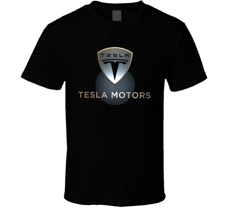 Tesla Sport Fast Exotic Car T Shirt