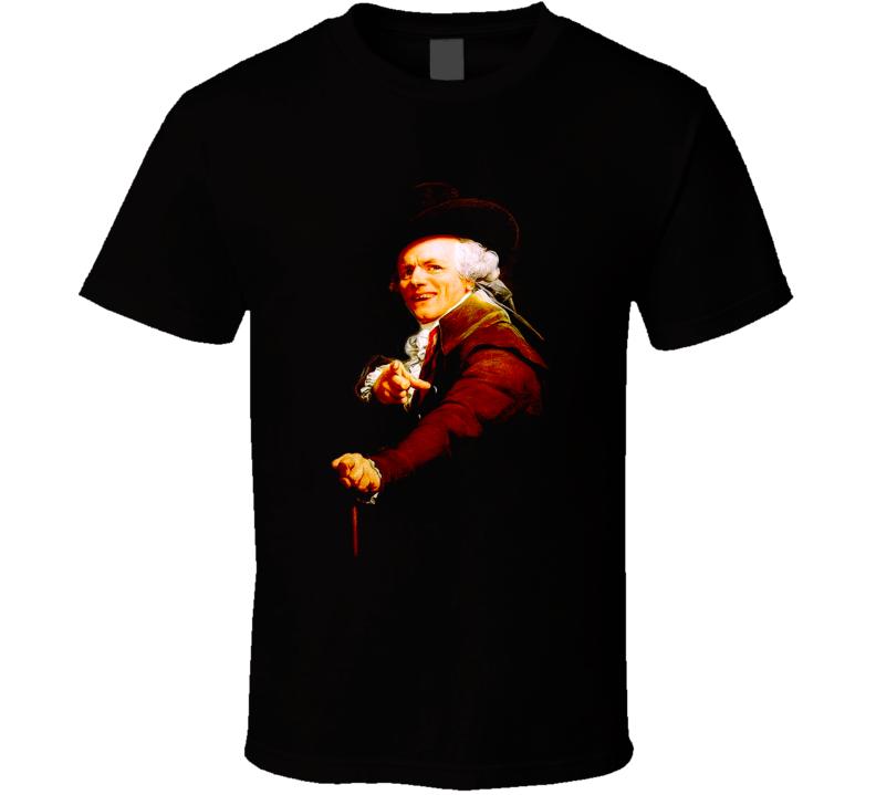 Joseph Ducreux Acquire Currency Artist T Shirt
