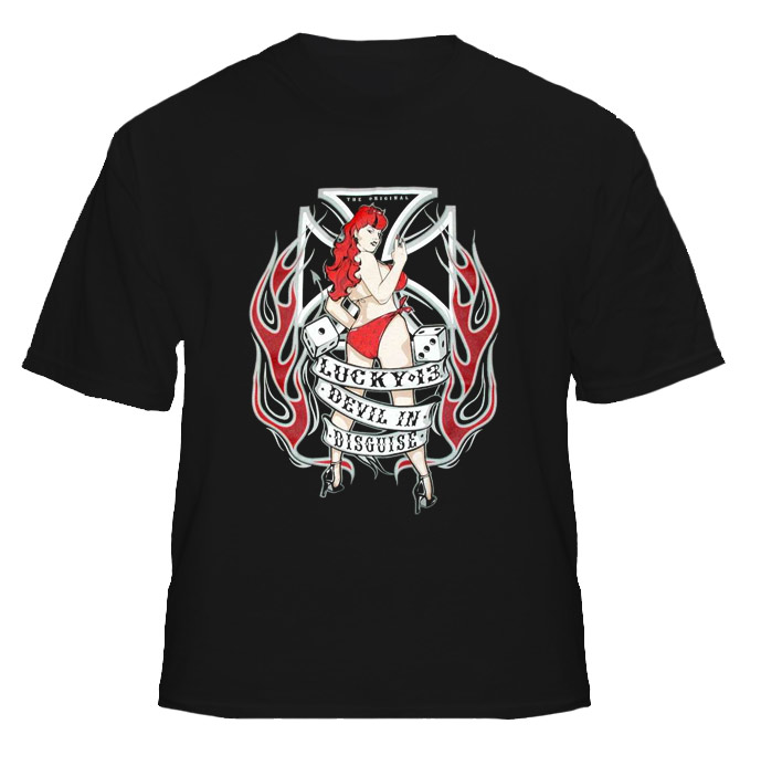 Devil In Disguise Sexy Girl Cool T Shirt