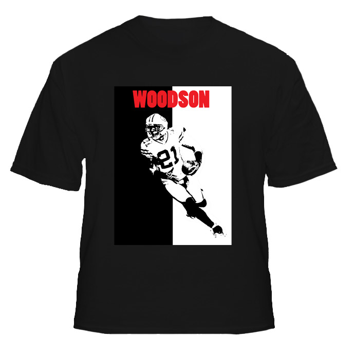 Charles Woodson Packers Football T Shirt