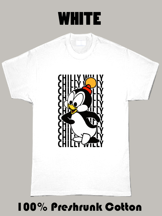 Chilly Willy The Penguin Cartoon Woody Woodpecker T Shirt