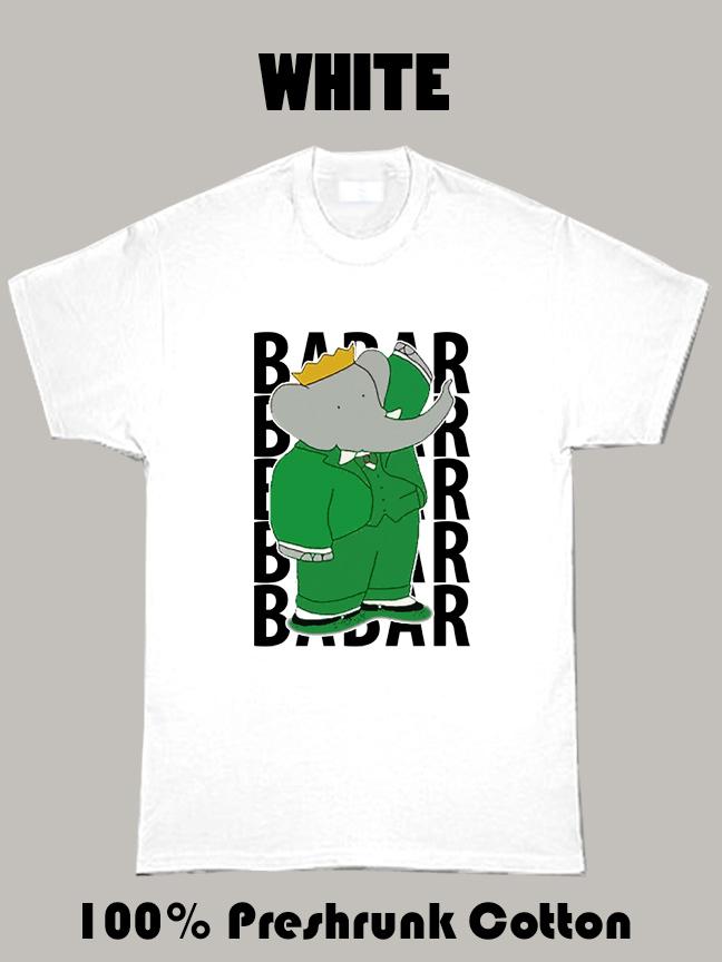 Babar Children's Cartoon T Shirt