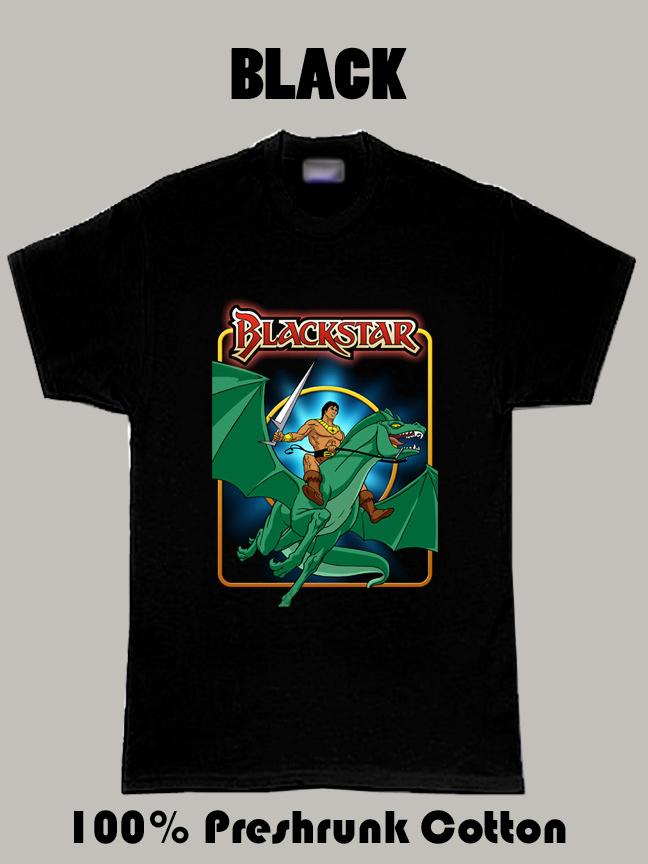 Blackstar 1981 Hero Cartoon T Shirt