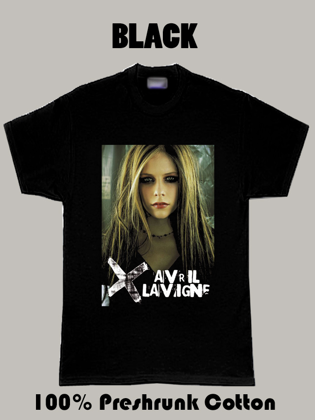 Avril Lavigne Music Punk Rock Canadian Singer T Shirt