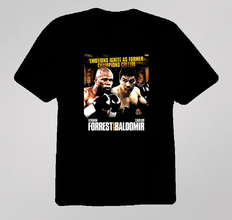 Vernon Forrest Vs Carlos Baldomir Boxing Tribute T Shirt