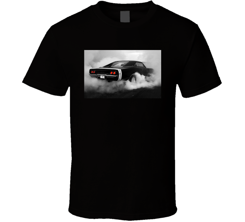 Dodge Charger Muscle Sports Car 1969 Retro Cool T Shirt