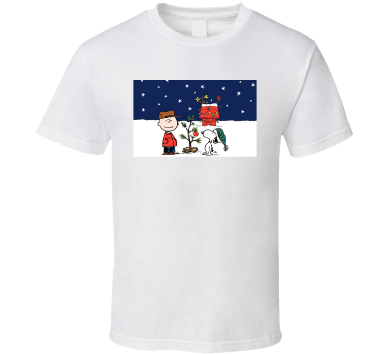 Charlie Brown Christmas Cartoon Classic Movie Show T Shirt