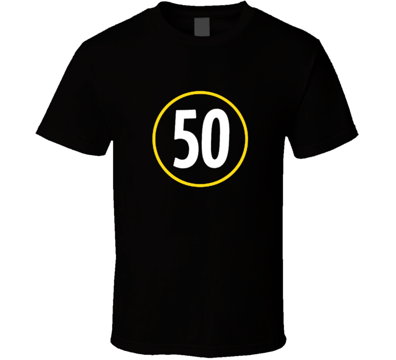 Steelers Ryan Shazier Pittsburgh Football Tribute 50 Sports T Shirt