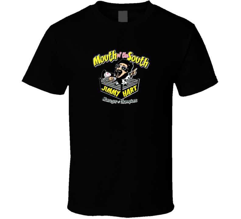 Mouth Of The South Jimmy Hart Retro Wrestling Manager T Shirt