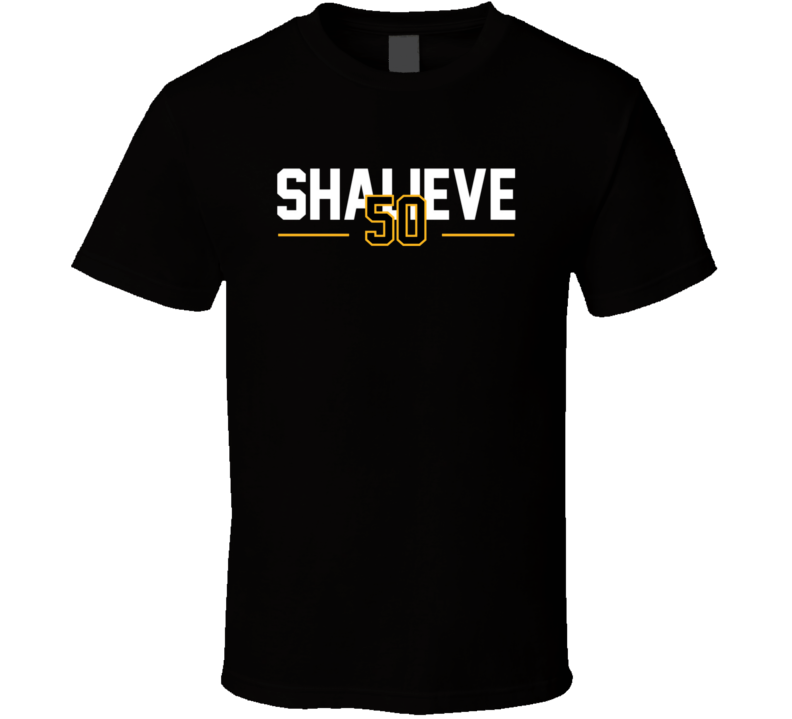Ryan Shazier 50 Shalieve Football Pittsburgh Tribute Sports T Shirt