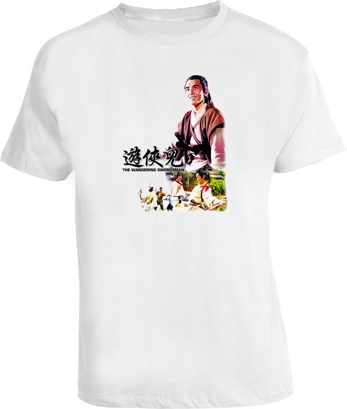 The Wandering Swordsman Japanese Retro Classic Movie T Shirt