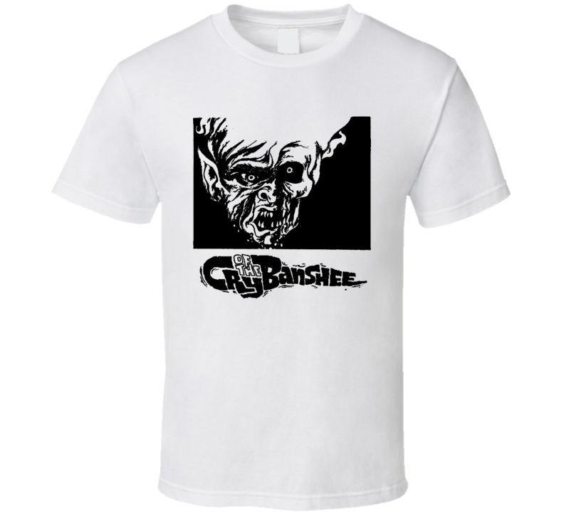 Vincent Price Cry Of The Banshee Retro Horror Movie T Shirt