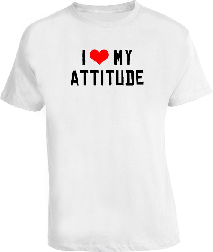 Ice Cube Funny I Love My Attitude T Shirt