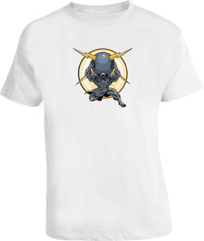 North American Strongman Muscle Man T Shirt