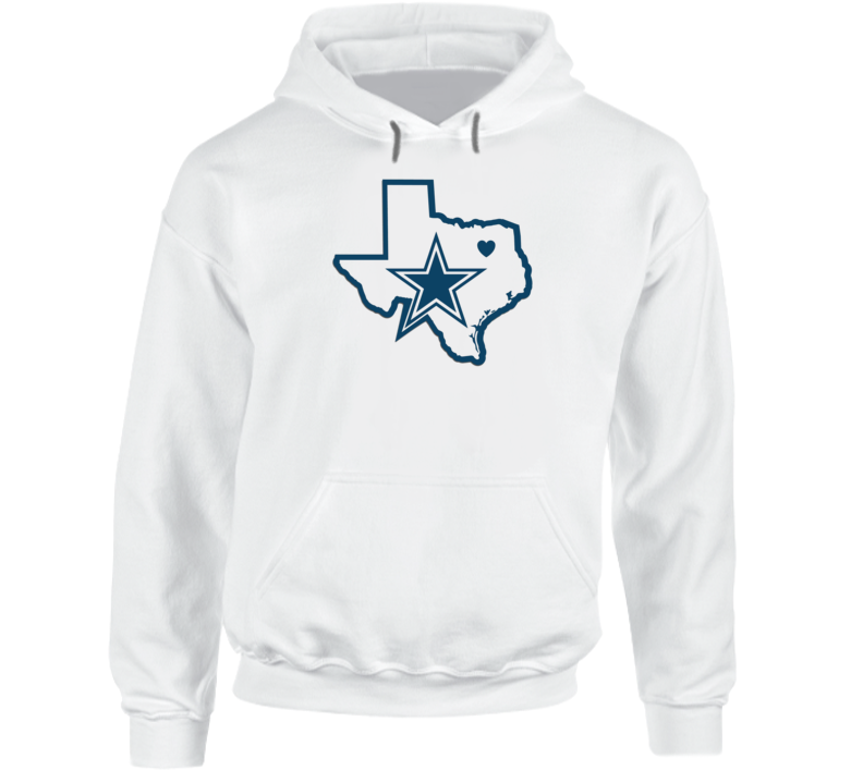 Cowboys Nation Texas Football State Fan Sports T Shirt