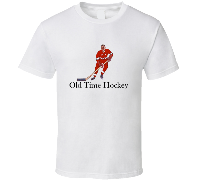 Russia Cccp Table Twisting Hockey Old Time Classic T Shirt