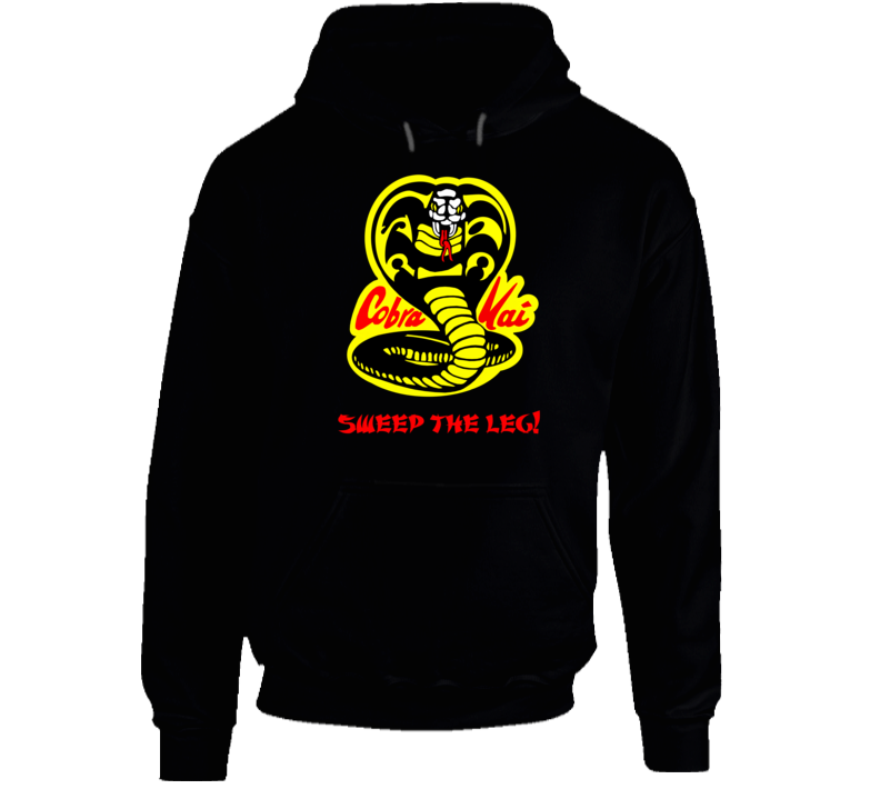 Sweep The Leg Cobra Mai Karate Kid Movie T Shirt Hoodie