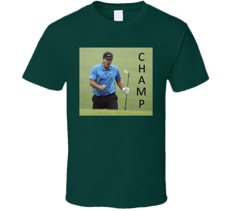 Patrick Reed Masters Champion Golf 2018 Sports T Shirt