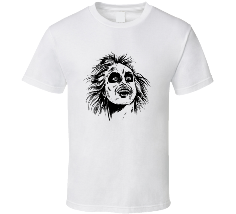 Beetlejuice Fantasy Movie 1980's Retro Keaton T Shirt
