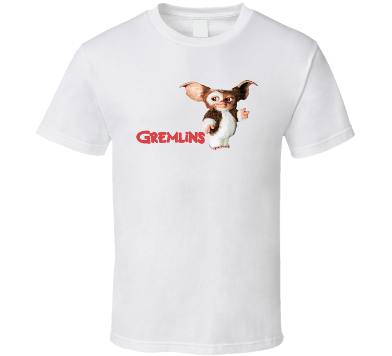 Gremlins Fantasy Retro 1980's Movie T Shirt