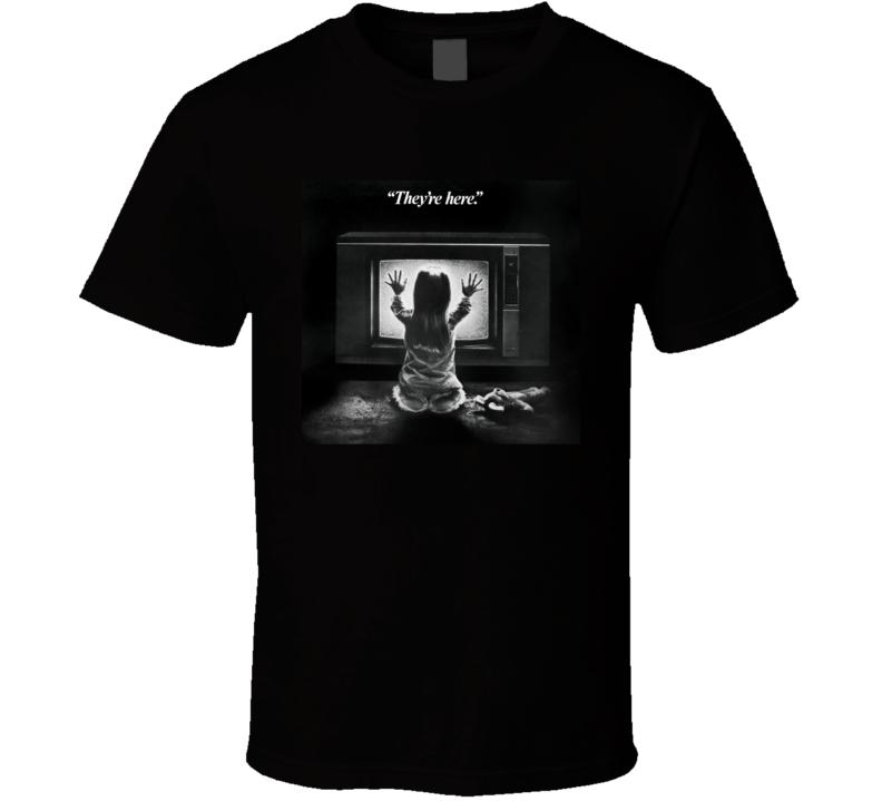Poltergeist Fantasy Thriller Movie 1980's Scary Retro T Shirt