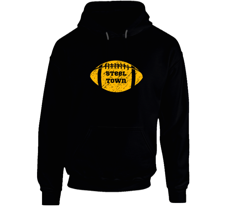 Steel Town Pittsburgh Steelers Football Sports Fans T Shirt