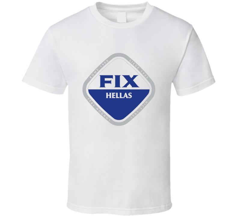 Fix Beer Hellas Greece Greek Ale Alcohol Drinking T Shirt