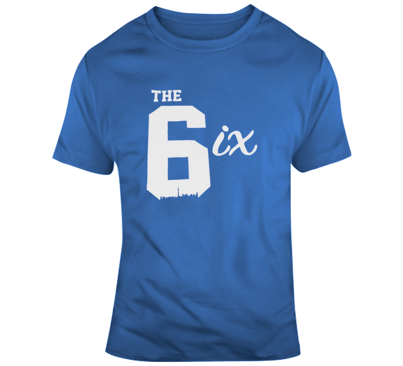 The Six 6ix Cool Toronto Canada Area Codes T Shirt