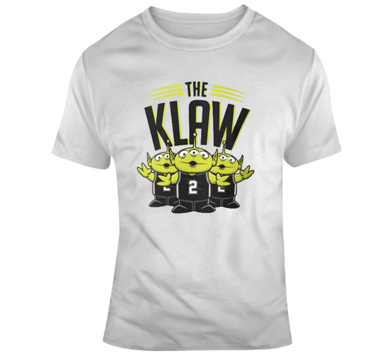 The Klaw Toy Story Funny Kawhi Basketball Parody T Shirt