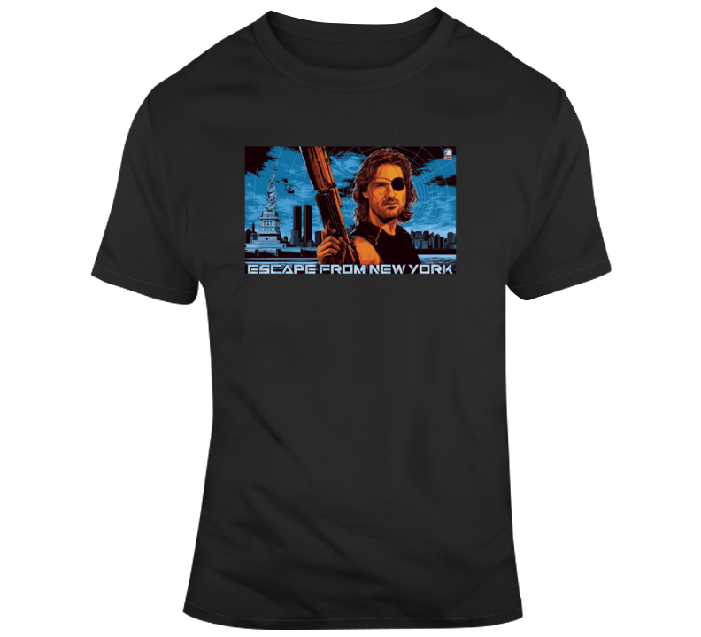 Escape From New York Movie Poster T Shirt