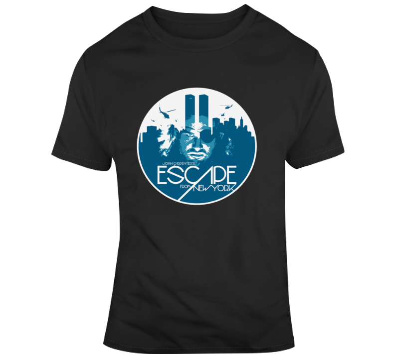 Escape From New York Snake T Shirt