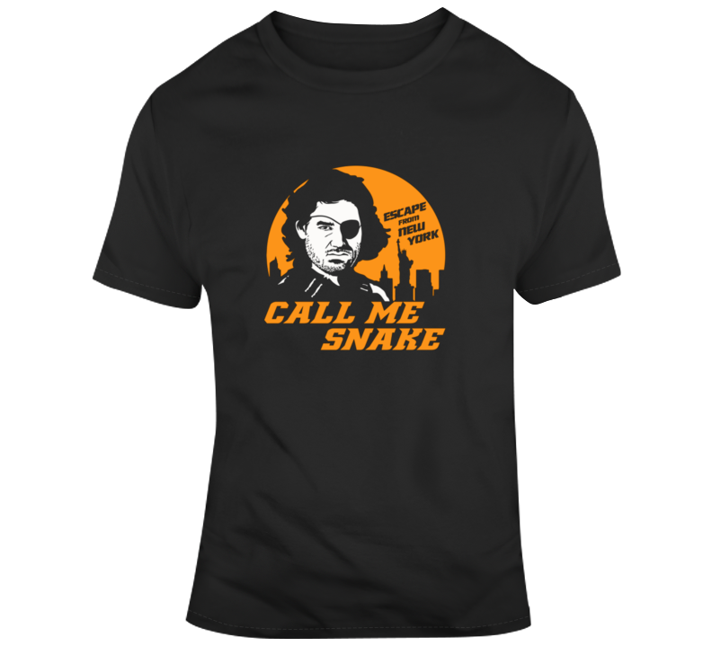 Escape From New York Call Me Snake Cool Movie T Shirt