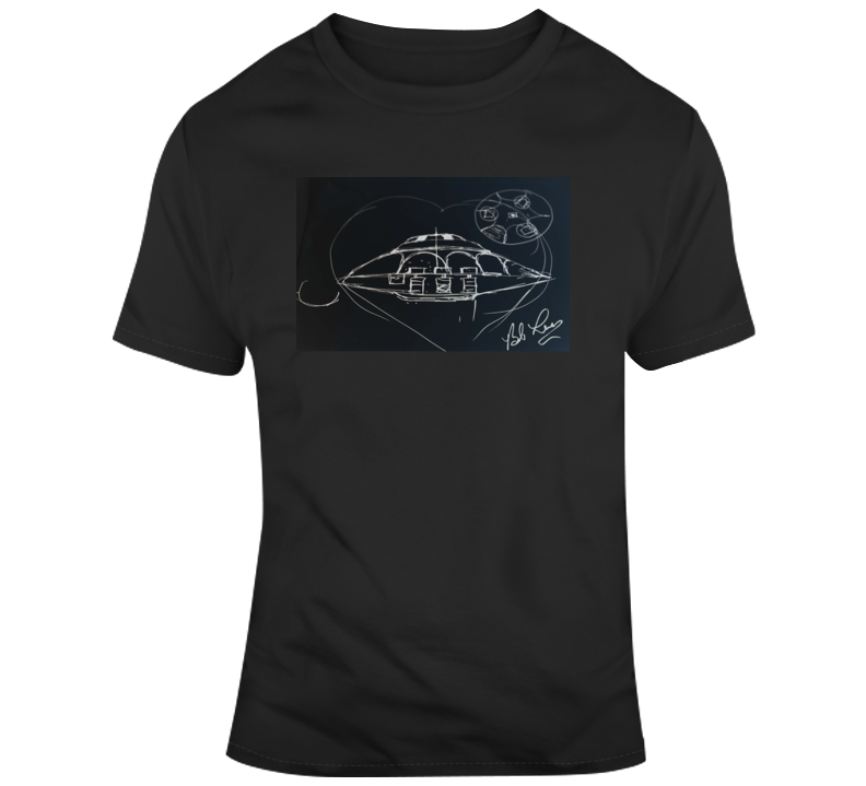 Bob Lazar Flying Saucers T Shirt