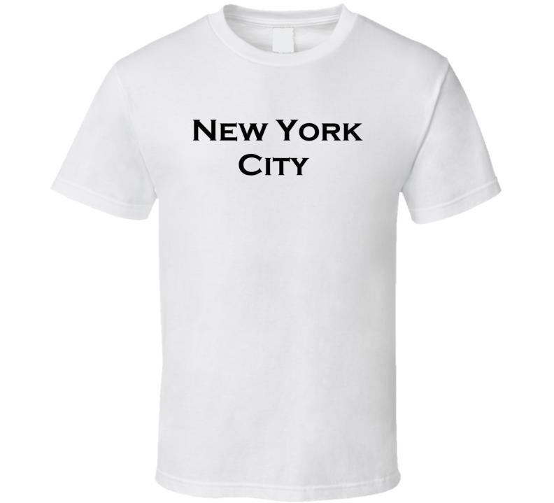 New York City Classic Iconic Retro T Shirt