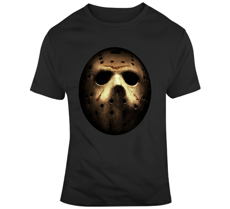 Jason Friday The 13th Halloween Cult Classic Movie Retro Scary T Shirt