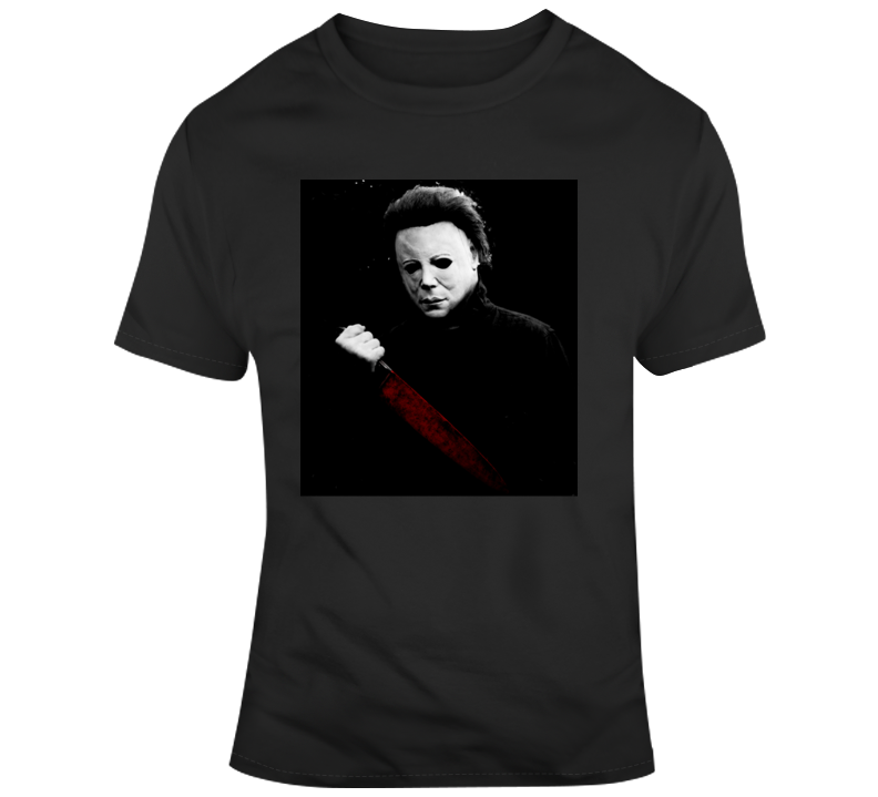 Michael Myers Halloween Retro Classic Horror Movies Scary T Shirt