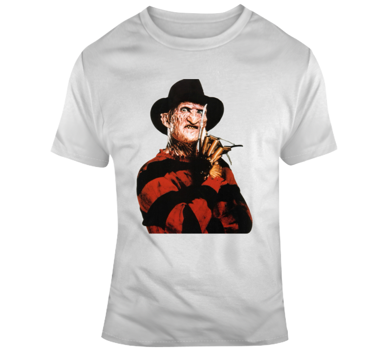 Freddy Krueger Nightmare On Elm Street Horror Scary Movie Halloween T Shirt