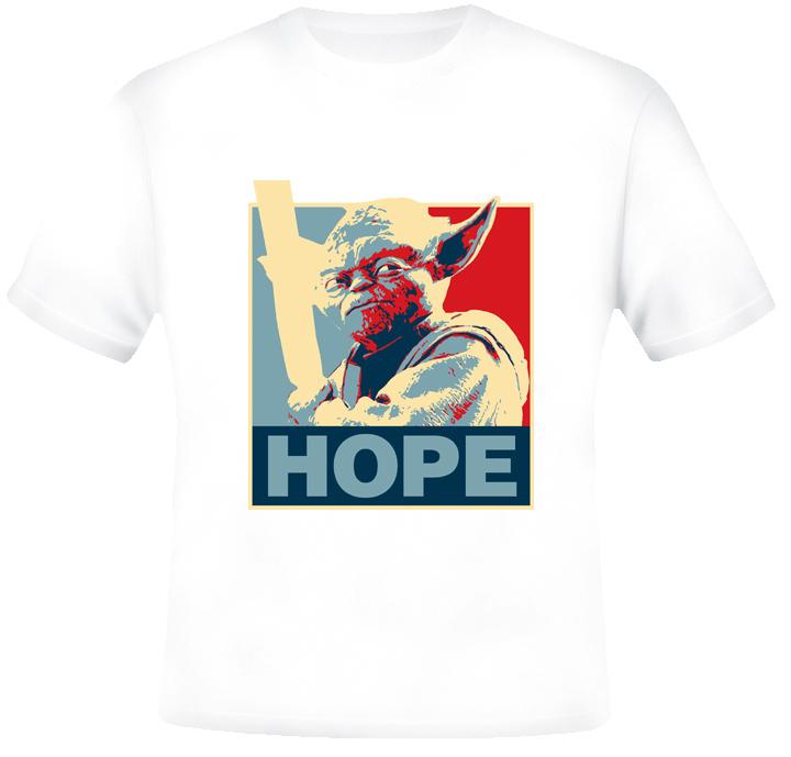 Yoda Star Wars Hope T shirt