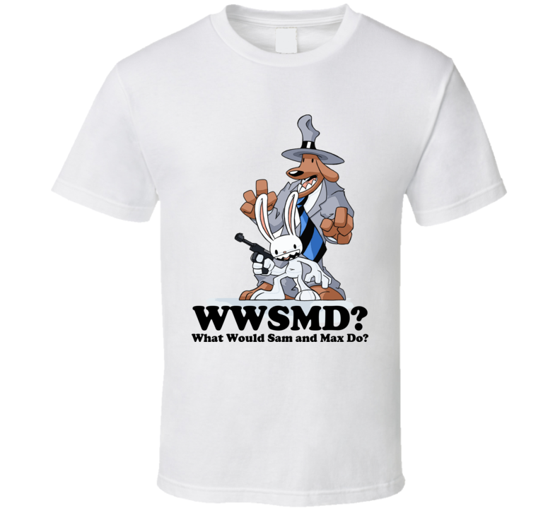 What Would Sam and Max Do Cartoon T Shirt