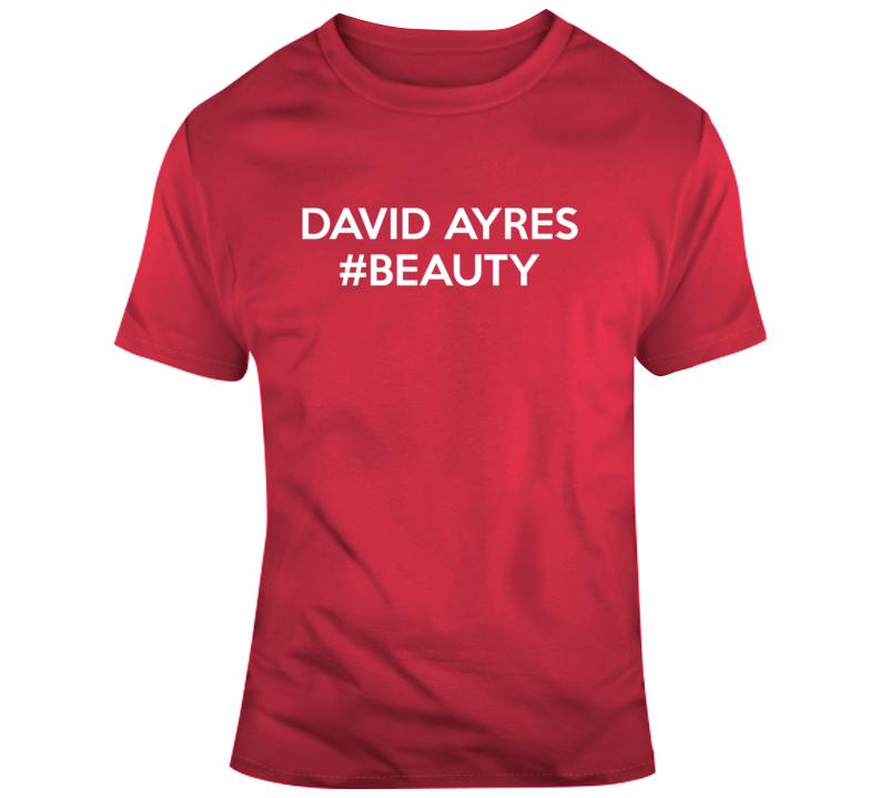 David Ayres Zamboni Driver Backup Goalie Hockey Legend Sports T Shirt