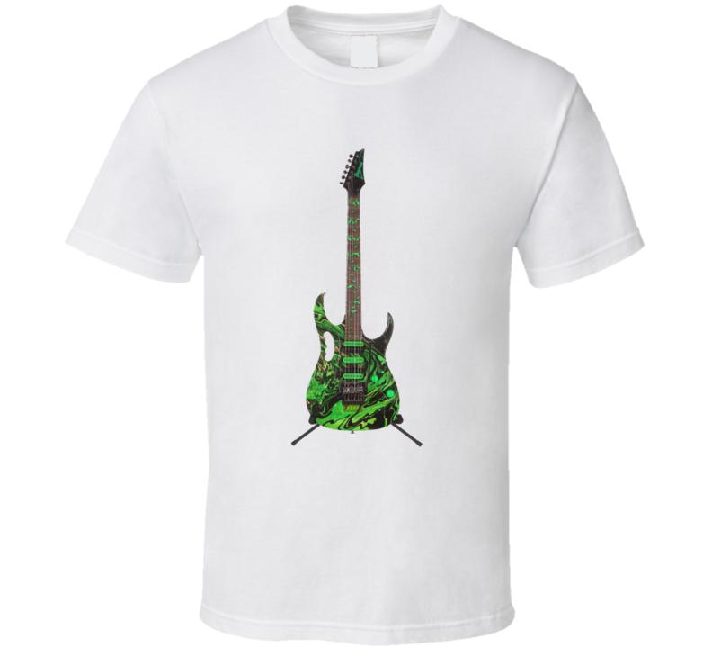 Steve Vai Ibanez Eclectic Guitar Rock Star T Shirt
