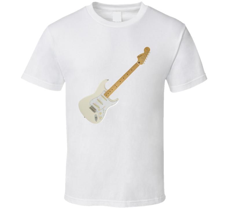 Jimmy Hendrix Strat Guitar T Shirt