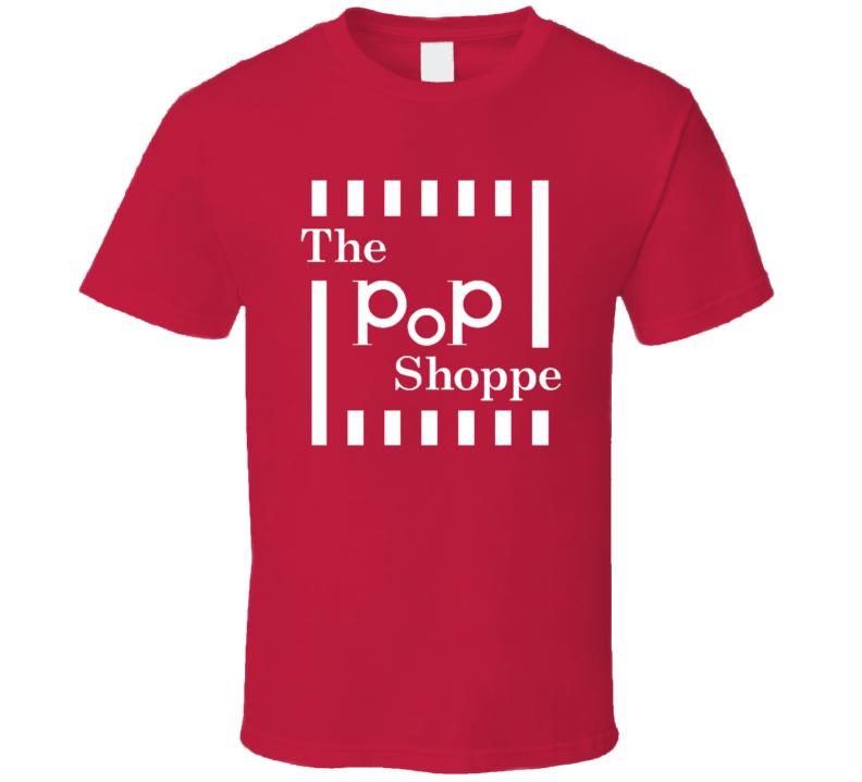 The Pop Shoppe Retro Old School Soda Drink Fun T Shirt