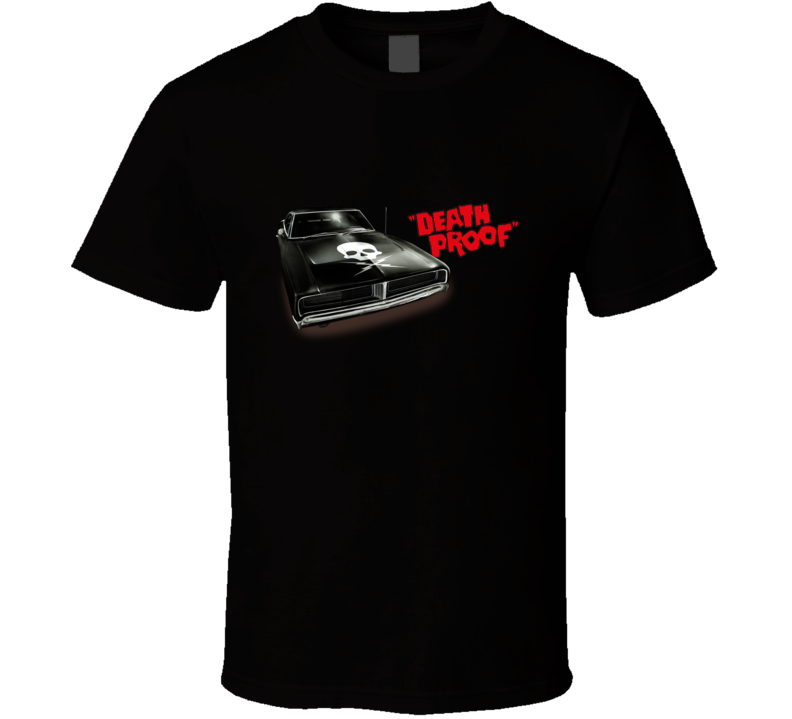 Death Proof Thriller Movie Tarantino T Shirt