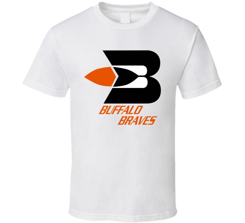 Buffalo Braves Retro Pro Basketball Team T Shirt