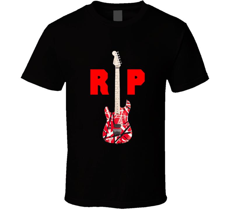 Rip Eddie Guitar Rock T Shirt