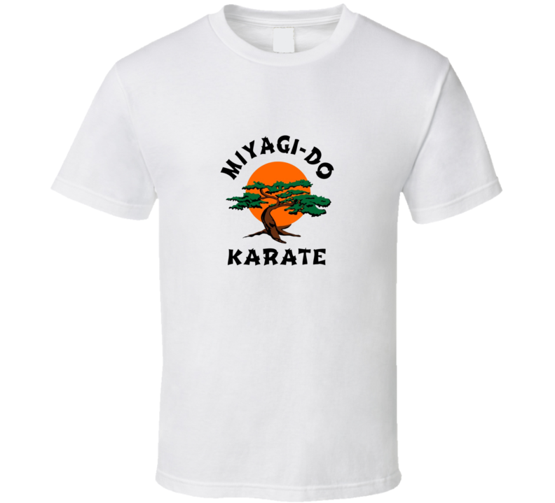 Miyagi-do Karate Logo Cobra Kai Tv Show T Shirt