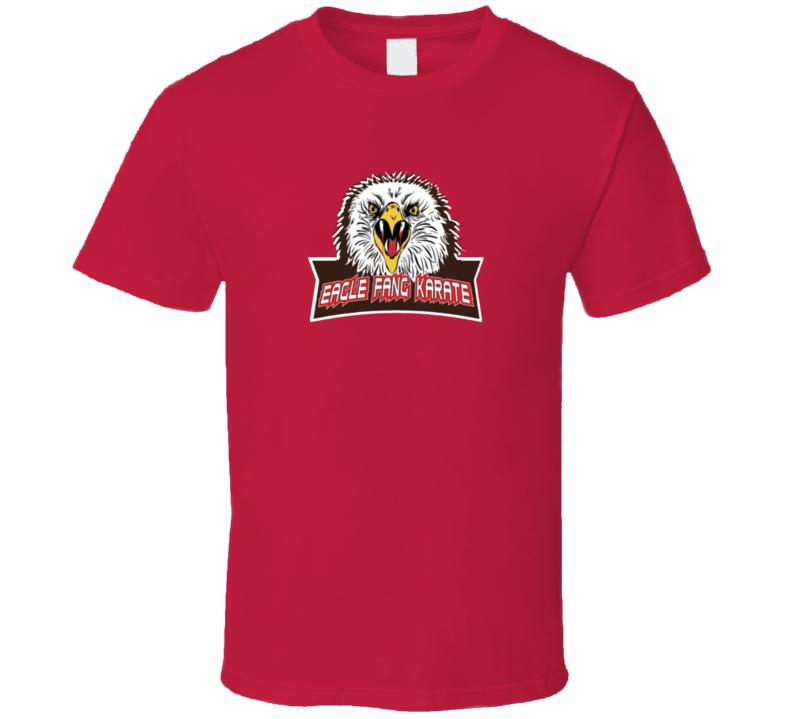 Eagle Fang Karate Logo Cobra Kai Tv Show T Shirt