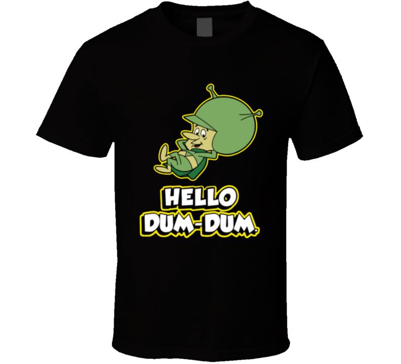 Great Gazoo Dum Dum Retro Cartoon Funny Tv Show T Shirt