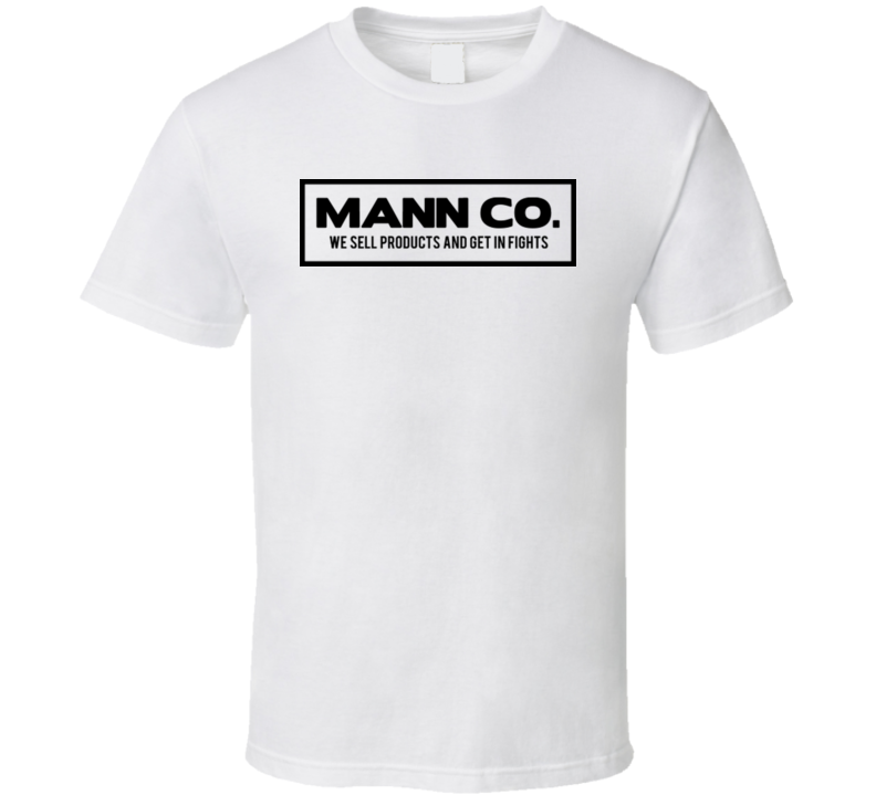 Mann Co. Shipping TF2 Team Fortress 2 store Funny Video Game T Shirt
